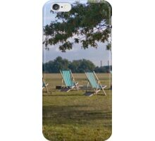 Hyde Park Chairs iPhone Case/Skin