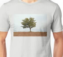 Lone Tree in Dry Land Unisex T-Shirt