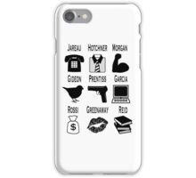 Criminal Minds Team (Minimalist) iPhone Case/Skin
