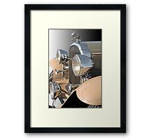 1932 Buick 96 S Coupe 'Grill Detail' Framed Print