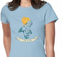 Bravery Womens Fitted T-Shirt