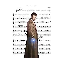 Doctor who- I am the doctor Photographic Print