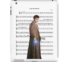 Doctor who- I am the doctor iPad Case/Skin