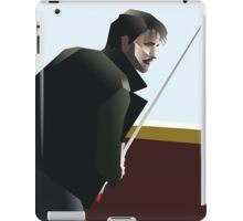 Dark Killian Jones - Geometric portrait iPad Case/Skin