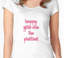 Happy Girls Women's Fitted Scoop T-Shirt