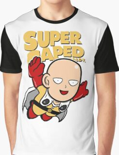 Super Caped Baldy Graphic T-Shirt