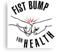 fist bump Canvas Print
