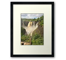 Grand Portage Falls Framed Print