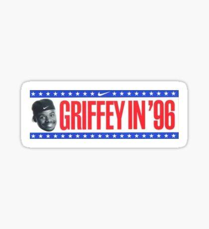 Ken Griffey Jr. bumper sticker Sticker