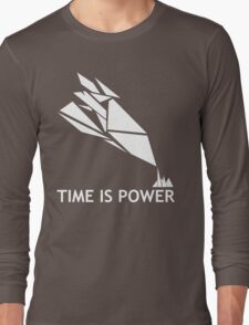 Time Is Power (Quantum Break Inspired Shirt) Long Sleeve T-Shirt