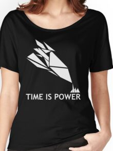 Time Is Power (Quantum Break Inspired Shirt) Women's Relaxed Fit T-Shirt