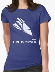 Time Is Power (Quantum Break Inspired Shirt) Womens Fitted T-Shirt