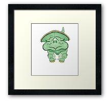 cute baby protoseratops  Framed Print