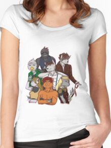 The Dark Realms Crew Women's Fitted Scoop T-Shirt
