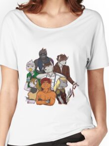 The Dark Realms Crew Women's Relaxed Fit T-Shirt