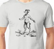 Aegopithecus (black print) Unisex T-Shirt