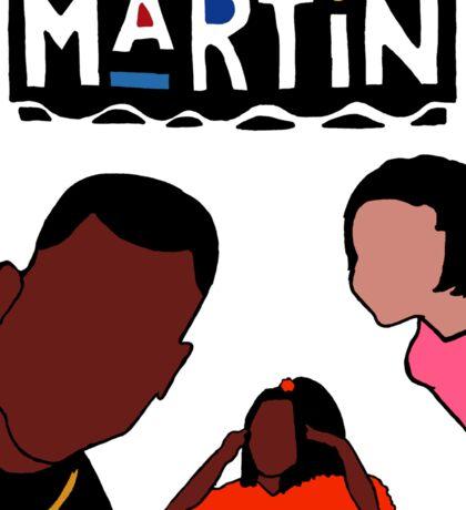 Martin (White) Sticker