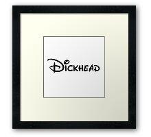 Walt Dickhead Framed Print