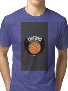 karasuno design Tri-blend T-Shirt