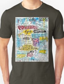 "Marianne Williamson Quote - ""Our deepest fear is not that we are inadequate"" T-Shirt"