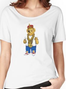 Gangster King Polo Bear Women's Relaxed Fit T-Shirt