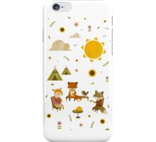 Woodland Animal Tea Party iPhone Case/Skin