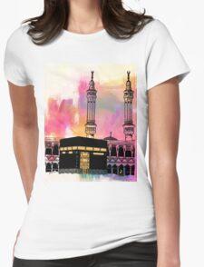 Makka Sunset Womens Fitted T-Shirt