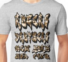 graffiti camoflauge by rogers brothers Unisex T-Shirt