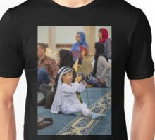 United Arab Emirates. Dubai. Jumeirah Mosque. Young Photographer from China. Unisex T-Shirt