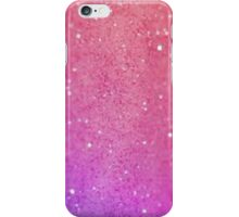 pink glitter design iPhone Case/Skin