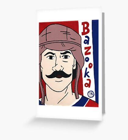 Bazooka Joe #14 Greeting Card