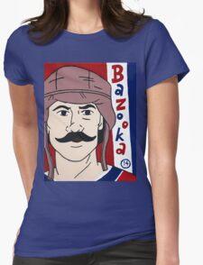 Bazooka Joe #14 Womens Fitted T-Shirt