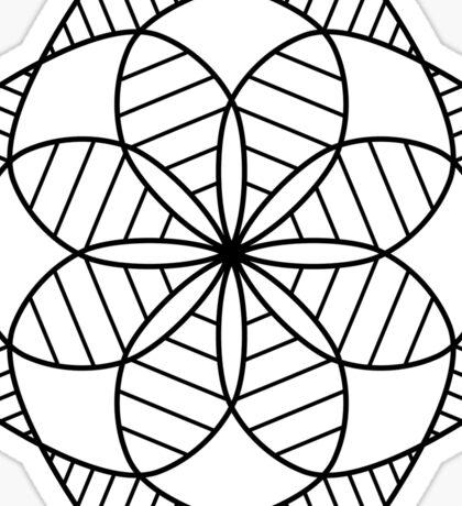 Kaleidoscope Mandala Sticker