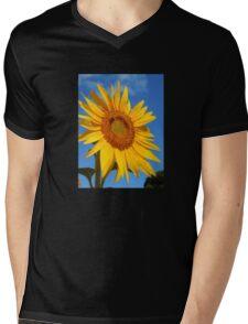 Sunflower Glory Mens V-Neck T-Shirt