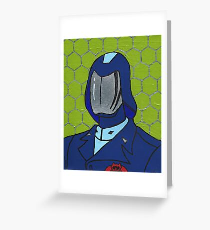 Cobra In Chief Greeting Card