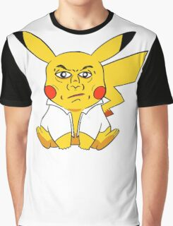 Pika Overworked Graphic T-Shirt