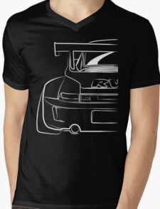 Porsche RWB Mens V-Neck T-Shirt