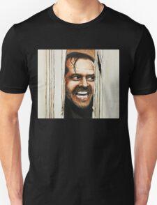 Here's Johnny! Unisex T-Shirt