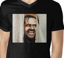Here's Johnny! Mens V-Neck T-Shirt