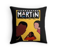 Martin (Yellow) Throw Pillow