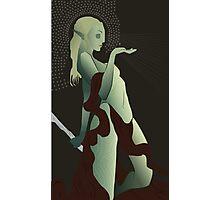 Female Elf Tarot Photographic Print