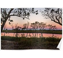 Queensland outback sunset Poster