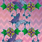 ojibwe floral deisng #2 2016 by mylittlenative