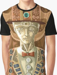 steampunk cash man Graphic T-Shirt