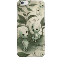 Natural History - Forest Spirit studies iPhone Case/Skin