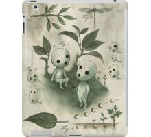 Natural History - Forest Spirit studies iPad Case/Skin