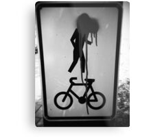 Can you ride a bike? Metal Print