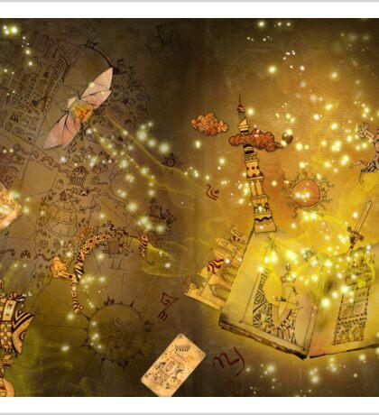 The Book of Alchemy Sticker