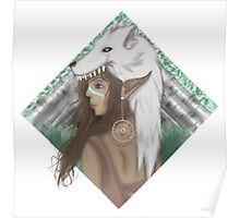 The Elven Huntress Poster