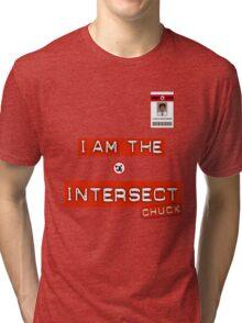 "Chuck ""I Am the Intersect""  Tri-blend T-Shirt"